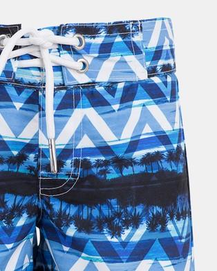 Escargot Endless Summer Board Shorts - Swimwear (Blue)