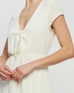 Volcom Anytime N Place Dress - Dresses (White)