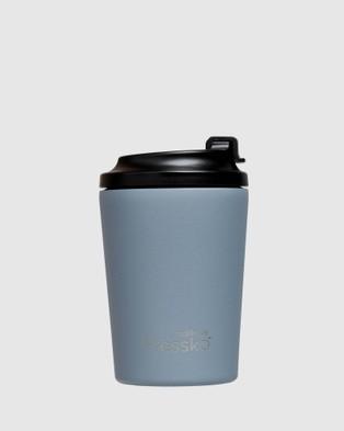 Fressko Bino 8oz Reusable Coffee Cup - Home (Blue)
