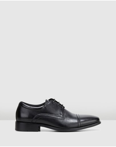 Hush Puppies Welch Black Burnish