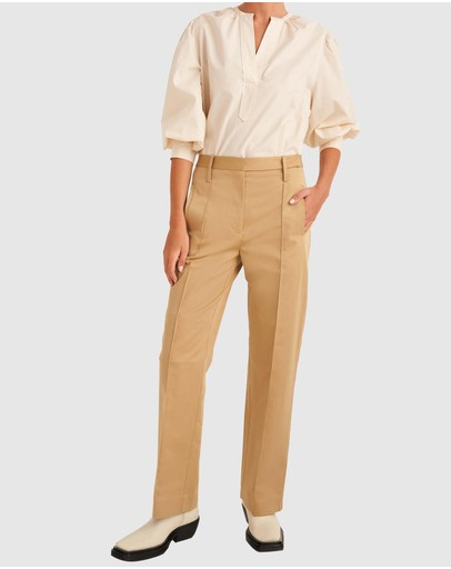 Oroton - Wide Leg Pants
