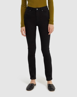SABA Anna High Rise Jeans - Jeans (black)