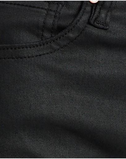 Dricoper Denim Coated Flare Jeans Black