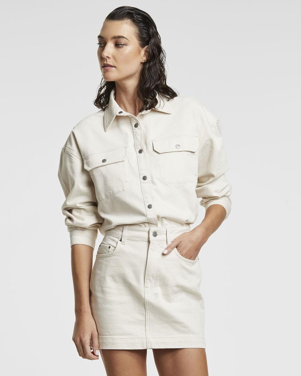 Ksubi Relaxo Shirt Shirts & Polos WHITE