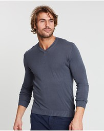 North Sails - V Neck 14 Gg Lead S