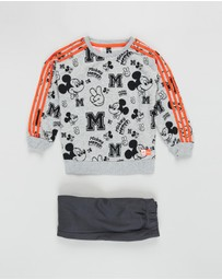 adidas Performance - Disney Mickey Mouse Jogger Set - Babies-Kids