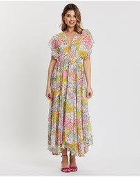 Kate Spade - Floral Dots Cover-Up Dress