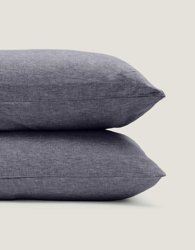 Life 100% Linen Standard Pillowslip Set