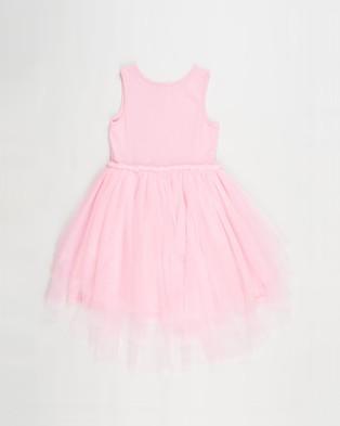 Cotton On Kids Iris Dress Up Dress   Kids - Dresses (Cali Pink Tiered Heart)