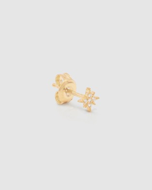 By Charlotte Starlight Earrings - Jewellery (Gold Plated Sterling Silver)