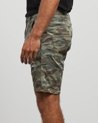 Kiss Chacey Messiah Denim Shorts - Denim (Camo)