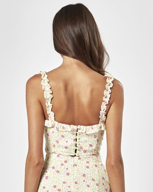 Charlie Holiday Fable Top - Tops (Festive Floral Light)