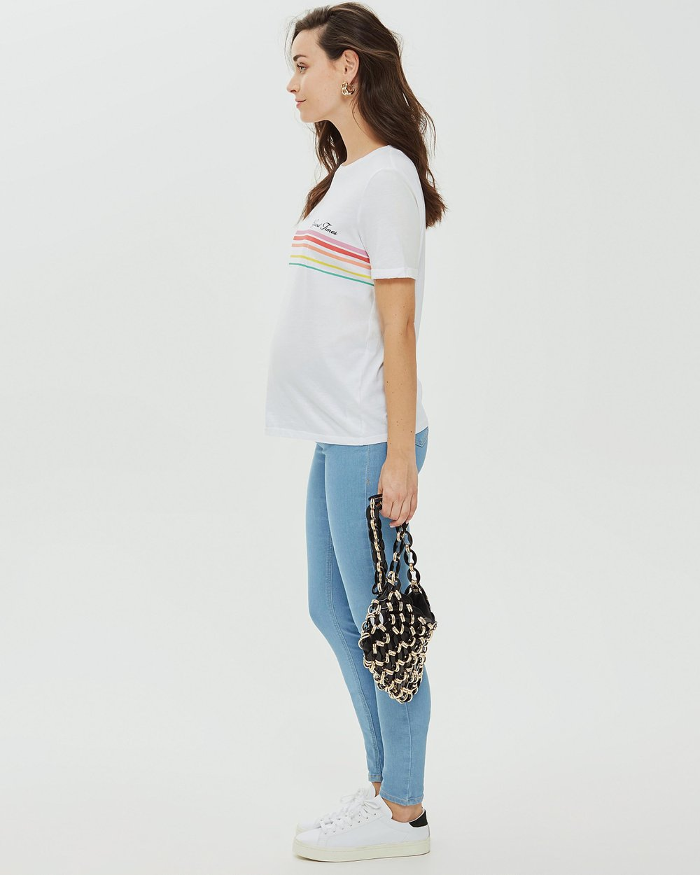 5b1caecbab0f6 Under The Bump Joni Jeans by TOPSHOP Maternity Online