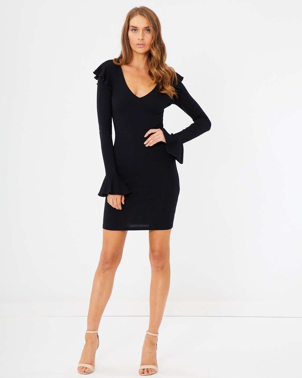 Photo of Tussah Black Una Knit Dress - beautiful dress from Tussah online