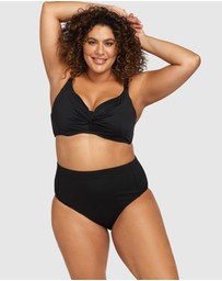 Artesands - Hues Black Monet Soft Cup Underwire Bikini Top