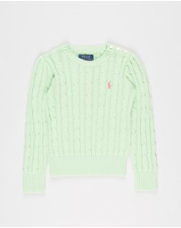 Polo Ralph Lauren - Cable Cotton Sweater - Kids