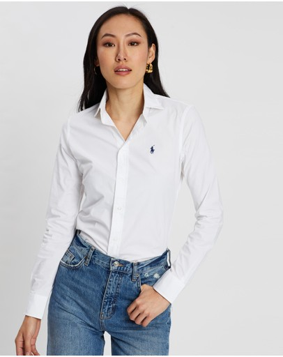 Polo Ralph Lauren - Kendall Slim-Fit Poplin Shirt