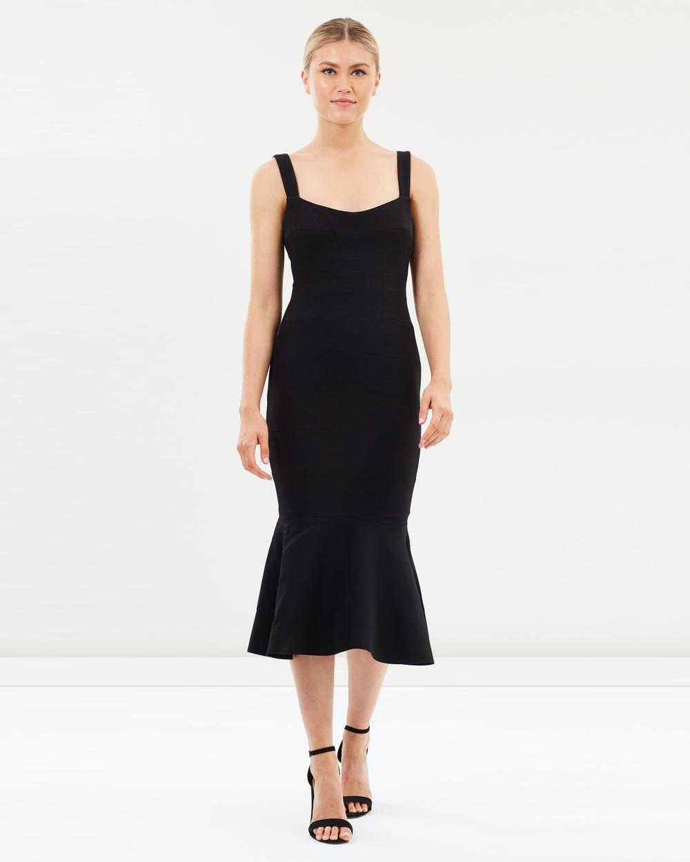 Rachel Gilbert Black Belinda Dress