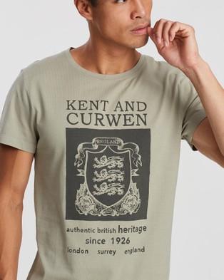 Kent and Curwen Logo T Shirt - T-Shirts & Singlets (Green)