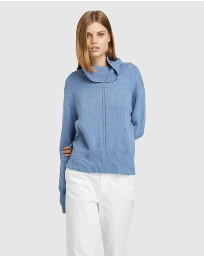 Oxford - Lexi Roll Neck Knit