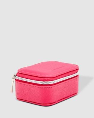 Louenhide Suzie Jewellery Box - Travel and Luggage (Fuschia)