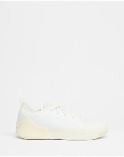 Adidas By Stella Mccartney Treino Shoes - Women's White Off-white & Footwear
