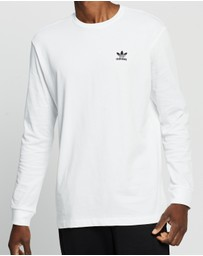 adidas Originals - Back + Front Print Trefoil Long Sleeve Tee