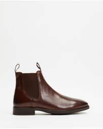 Double Oak Mills - Carson Leather Gusset Boots
