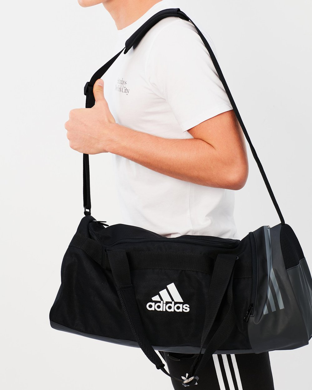 8854ed3840dd Convertible 3-Stripes Duffle Bag by adidas Performance Online