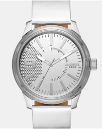 Diesel - Rasp Silver-Tone Analogue Watch