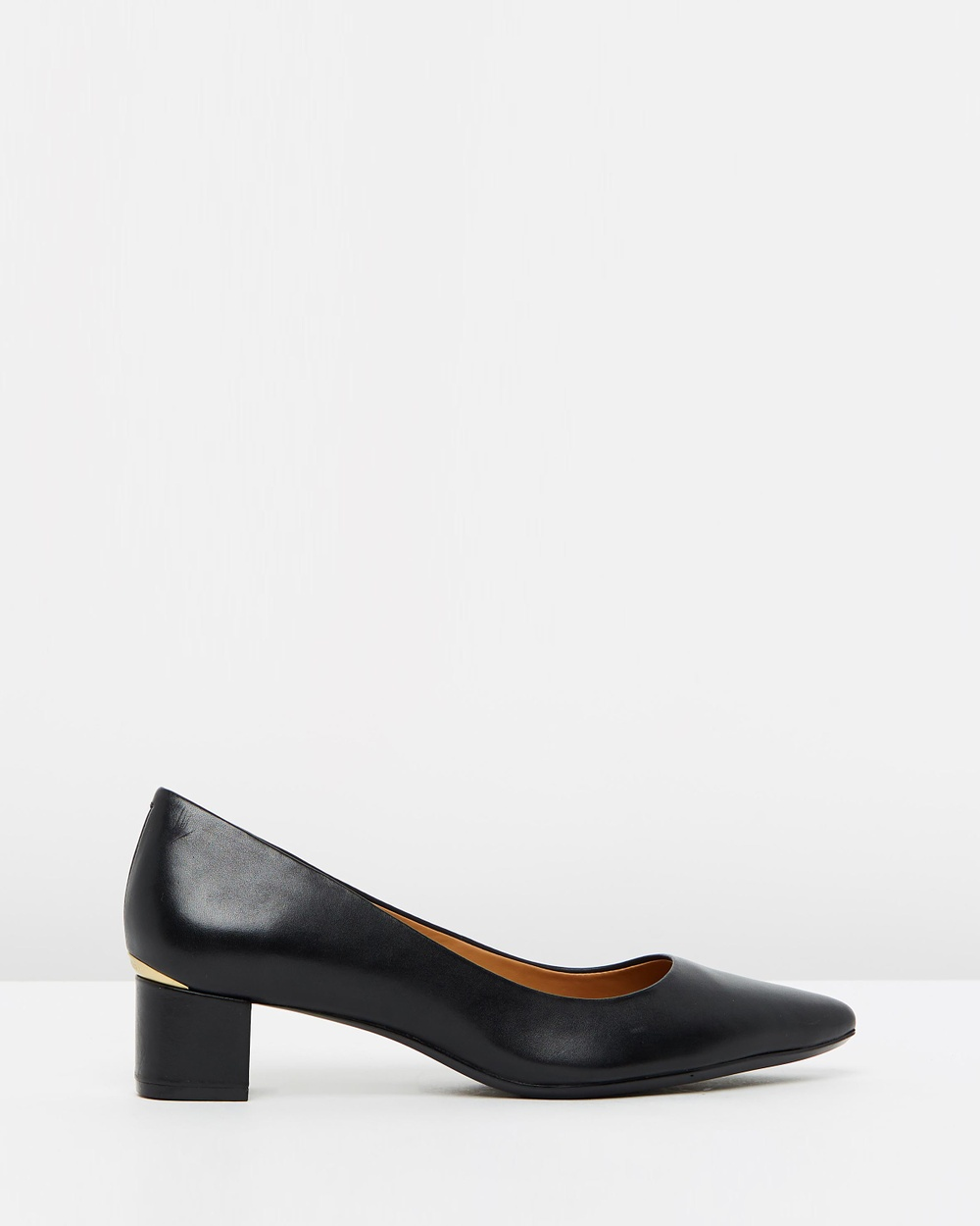 Calvin Klein Genoveva All Pumps Black Cow Silk Genoveva