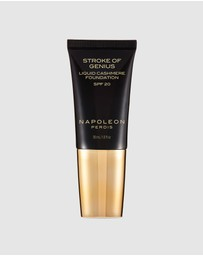 Napoleon Perdis - Stroke of Genius Liquid Cashmere Foundation Look 1