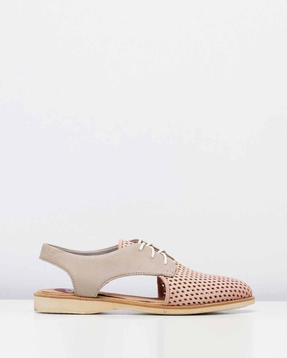 61fae6fc365 Slingback Punch Blush Stone by Rollie Online