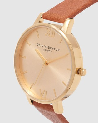 Olivia Burton Big Dial - Watches (Tan)