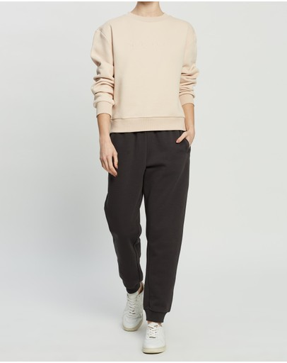 Nude Lucy Slogan Sweat Blush