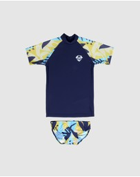 Conscious Swim - Logo Rashie Surf Set - Boys