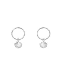 SAINT VALENTINE - Shell Mini Hoops