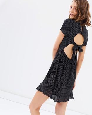 Lulu & Rose – Stevie Spot Mini Dress Spot Print