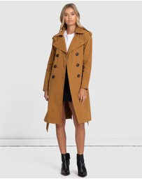 Alys - Elle Double Breasted Trench