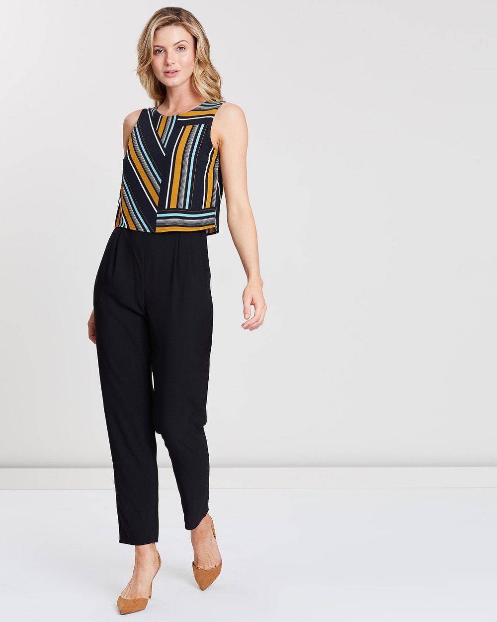 a139944547 Double Layer Jumpsuit by Dorothy Perkins Online