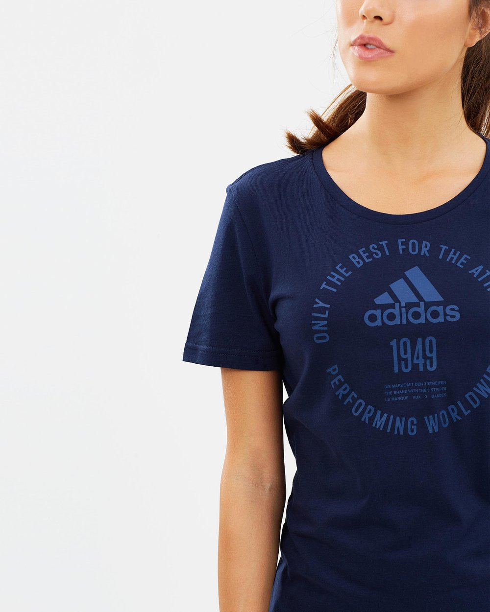 Adidas Emblem Tee by adidas Performance Online  5932ce65761