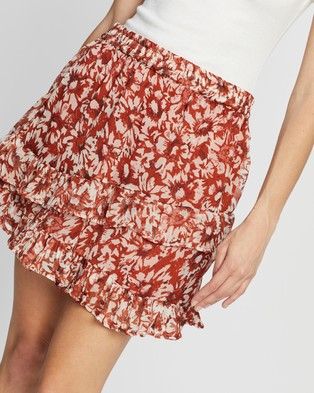 ONLY Vilma Short Skirt - Clothing (Picante)