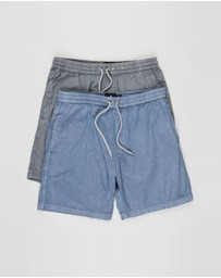 St Goliath - 2-Pack Fusion Pull On Shorts