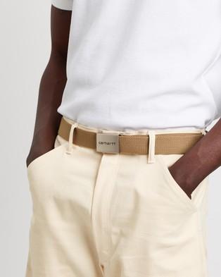 Carhartt Chrome Clip Belt - Belts (Brown)
