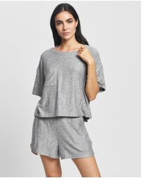 Homebodii - Jordyn Luxe Lounge T-Shirt & Shorts Set