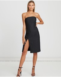 BWLDR - Rory Strapless Dress