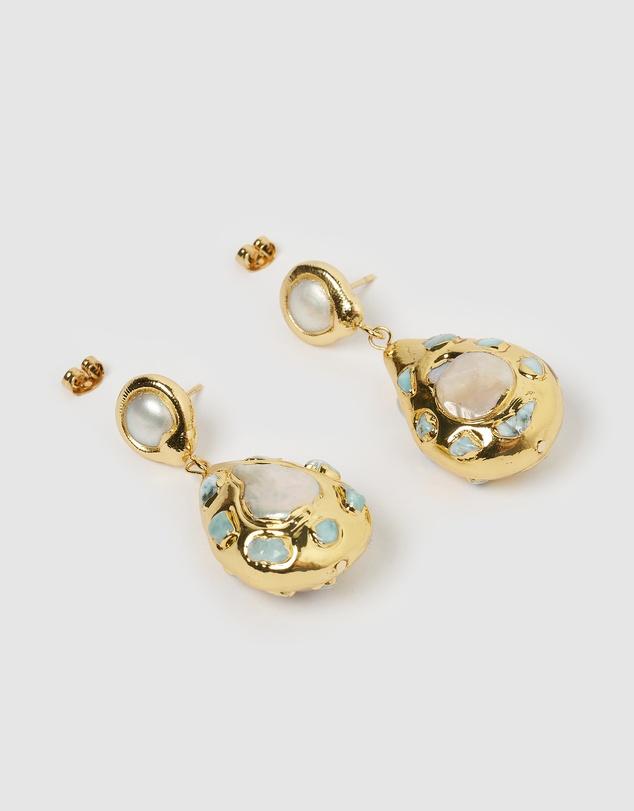 Women Sage Earrings
