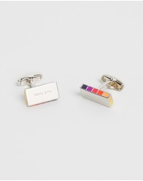 Paul Smith - Rainbow Logo Cufflinks
