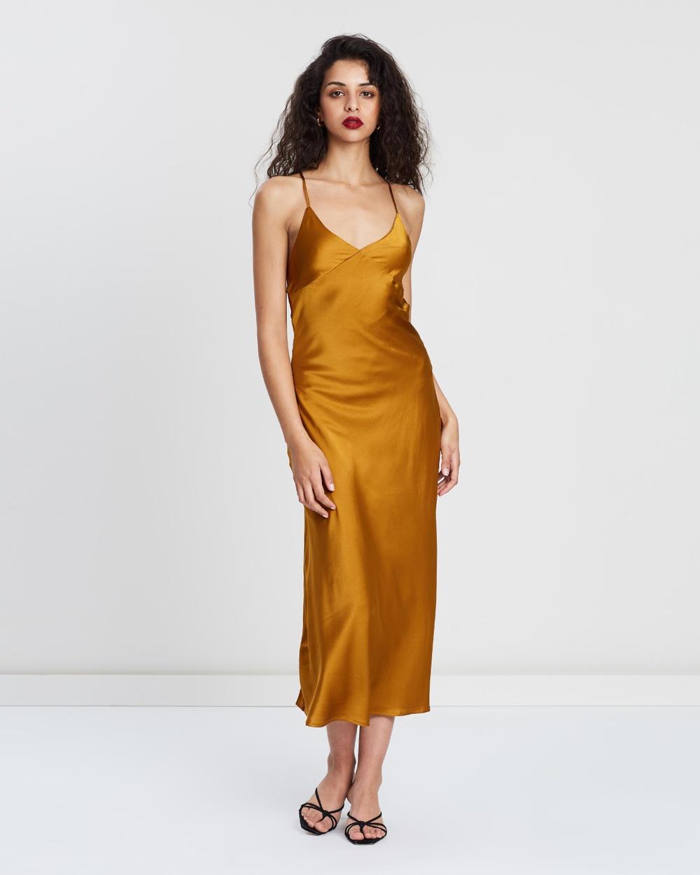 Hansen & Gretel Honeycomb Summer Silk Dress