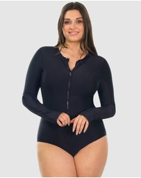 B Free Intimate Apparel - Long Sleeve One-Piece Swimsuit